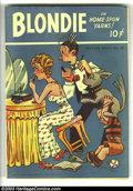 Golden Age (1938-1955):Cartoon Character, Feature Books #42 Blondie (David McKay, 1944) Condition: FN. Earlycomic book of one of America's most enduring and favorite...