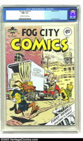 Bronze Age (1970-1979):Alternative/Underground, Fog City Comics #1 (Stampart, 1977) CGC NM+ 9.6 Off-white to white pages. Rand Holmes art. Overstreet does not list this or ...