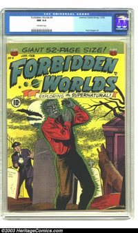 Forbidden Worlds #4 (ACG, 1952) CGC NM 9.4 Off-white comics. Early issue of the long-running supernatural title. Charles...