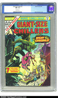 Bronze Age (1970-1979):Horror, Giant-Size Chillers #3 (Marvel, 1975) CGC NM+ 9.6 Off-white pages.Bernie Wrightson cover. Overstreet 2003 NM 9.4 value = $2...