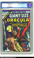 Bronze Age (1970-1979):Horror, Giant-Size Dracula #3 (Marvel, 1974) CGC NM 9.4 Off-white to whitepages. You would be extremely hard-pressed to find anothe...