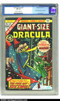 Bronze Age (1970-1979):Horror, Giant-Size Dracula #5 (Marvel, 1975) CGC NM 9.4 Off-white to whitepages. First John Byrne art at Marvel Comics. Overstreet ...
