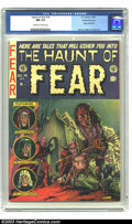 Golden Age (1938-1955):Horror, The Haunt of Fear #14 Gaines File pedigree 4/12 (EC, 1952) CGC NM9.4 Off-white to white pages. Origin Old Witch. Kamen, Ing...