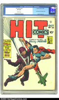 Golden Age (1938-1955):Superhero, Hit Comics #24 (Quality, 1942) CGC VF 8.0 Off-white pages. Reed Crandall art. Overstreet 2003 VF 8.0 value $600. ...