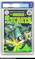 Bronze Age (1970-1979):Horror, House of Secrets #127 (DC, 1975) CGC NM 9.4 White pages. A wildpool-playing skeleton highlights this issue. Currently, this...