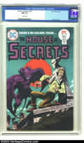 Bronze Age (1970-1979):Horror, House of Secrets #129 (DC, 1975) CGC NM 9.4 White pages.Great-looking copy of this title, with a cool Luis Dominguezcover....