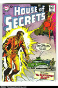 Silver Age (1956-1969):Mystery, House of Secrets Group (DC, 1958) Condition: Average VG-. This lotconsists of #8, 11, and 12. All have Jack Kirby covers an...(Total: 3 Comic Books Item)