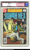 Bronze Age (1970-1979):Western, Jonah Hex #1 (DC, 1977) CGC VF/NM 9.0 White pages. Jose Garcia-Lopez cover and art. Overstreet 2003 VF/NM 9.0 value = $94; N...