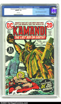 Bronze Age (1970-1979):Science Fiction, Kamandi, the Last Boy on Earth #1 (DC, 1972) CGC NM/MT 9.8 White pages. Jack Kirby cover and art. Origin and first appearanc...