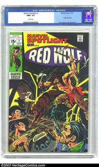 Marvel Spotlight #1 (Marvel, 1971) CGC NM+ 9.6 White pages. Neal Adams cover. Wally Wood art. Only three copies have rec...