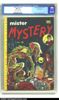 Golden Age (1938-1955):Horror, Mister Mystery #2 Double Cover (Aragon Magazines, Inc., 1951) CGCNM- 9.2 Cream to Off-white pages. Ross Andru and Mike Espo...
