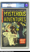 Golden Age (1938-1955):Horror, Mysterious Adventures #17 Aurora pedigree (Story Comics, 1953) CGCVF- 7.5 Off-white to white pages. Doug Wildey art. Overst...