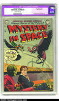Golden Age (1938-1955):Science Fiction, Mystery in Space #7 White Mountain pedigree (DC, 1952) CGC ApparentVF 8.0 Slight (P) Off-white to white pages. Infantino an...