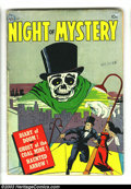 Golden Age (1938-1955):Horror, Night of Mystery nn (Avon, 1953) Condition: GD+. Hollingsworthcover. Kinstler art. Overstreet 2003 GD 2.0 value = $43. ...