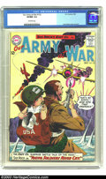 Silver Age (1956-1969):War, Our Army At War #132 (DC, 1963) CGC VF/NM 9.0 Off-white pages. Sgt. Rock issue. Joe Kubert cover and art. According to CGC's...
