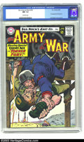 Silver Age (1956-1969):War, Our Army At War #155 (DC, 1965) NM- 9.2 Off-white pages. The Enemy Ace makes his third appearance this issue; Joe Kubert cov...