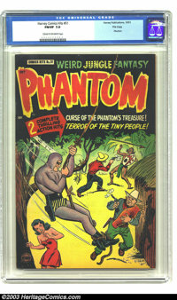 Harvey Comics Hits # 51 Phantom - File Copy (Harvey, 1951) CGC FN/VF 7.0 Cream to off-white pages. Highest graded of onl...