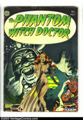 Golden Age (1938-1955):Horror, The Phantom Witch Doctor #1 (Avon, 1952) Condition: VG. BeautifulRaymond Kinstler cover, plus seven pages of Kinstler inter...
