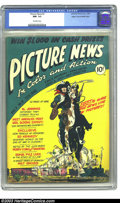 Golden Age (1938-1955):Non-Fiction, Picture News #2 Mile High pedigree (Lafayette Street Corp., 1946)CGC NM- 9.2 Off-white pages. Atomic explosion panels. Fran...