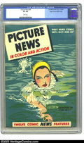 Golden Age (1938-1955):Non-Fiction, Picture News #8 Mile High pedigree (Lafayette Street Corp., 1946)CGC VF 8.0 White pages. Monte Hale story (possibly the fir...