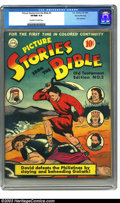 Golden Age (1938-1955):Religious, Picture Stories from the Bible #2 Old Testament - Gaines File pedigree (DC, 1942) CGC VF/NM 9.0 Off-white to white pages. Ol...