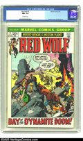 Bronze Age (1970-1979):Western, Red Wolf #2 (Marvel, 1972) CGC NM+ 9.6 Off-white pages. Gil Kane cover. Syd Shores art. Highest grade yet certified by CGC f...
