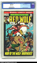 Bronze Age (1970-1979):Western, Red Wolf #3 (Marvel, 1972) CGC NM+ 9.6 Off-white to white pages. Syd Shores cover and art. Highest grade that CGC has given ...