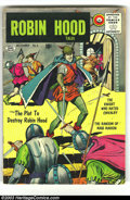 Robin Hood Tales #6 (Quality, 1956) Condition: VG. Last Quality issue, Matt Baker cover and artwork. Overstreet 2003 VG...