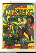 Golden Age (1938-1955):Horror, Shocking Mystery Cases #51 (Star Publications, 1952) Condition: GD.Classic L. B. Cole eyeball cover art. This great horror ...