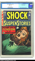 Golden Age (1938-1955):Horror, Shock SuspenStories #15 Gaines File pedigree (EC, 1954) CGC NM- 9.2Off-white to white pages. Art by Kamen, Crandall, and Wo...