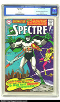Silver Age (1956-1969):Horror, Showcase #60 The Spectre (DC, 1966) CGC VF+ 8.5 White pages. FirstSilver Age appearance of the Spectre. Origin in text. Mur...
