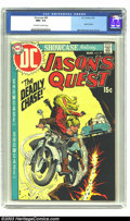 Bronze Age (1970-1979):Miscellaneous, Showcase #89 Jason's Quest (DC, 1970) CGC NM+ 9.6 Off-white towhite pages. Mike Sekowsky cover and art. CGC's highest grade...
