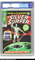 Silver Age (1956-1969):Superhero, Silver Surfer #1 (Marvel, 1968) CGC NM 9.4 Off-white pages. Origin of the Silver Surfer. John Buscema and Gene Colan art. Ne...