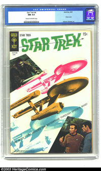 Star Trek #4 (Gold Key, 1969) CGC NM 9.4 Cream to off-white pages. Photo cover. Alberto Gioletti art. Overstreet 2003 NM...