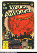 Golden Age (1938-1955):Science Fiction, Strange Adventures #2 (DC, 1950) Condition: GD. Jim Mooney cover.Finlay, Kirby, Swan, and Mooney art. Overstreet 2003 GD 2....