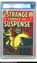 Silver Age (1956-1969):Horror, Strange Stories of Suspense #14 Circle 8 pedigree (Atlas, 1957) CGCNM- 9.2 Cream to off-white pages. Everett cover. William...