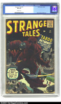 Silver Age (1956-1969):Horror, Strange Tales #77 (Marvel, 1960) CGC FN 6.0 Off-white pages. JackKirby, Don Heck, Steve Ditko art. Second highest graded CG...