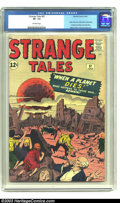 Silver Age (1956-1969):Horror, Strange Tales #97 (Marvel, 1962) CGC VF- 7.5 Off-white pages. Firstappearance of Aunt May and Uncle Ben, before Amazing F...