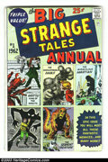 Silver Age (1956-1969):Superhero, Strange Tales Annual Group (Marvel, 1962) Condition: Average VG. Both annuals of the title are in this lot. Both feature rep...