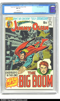 Superman's Pal Jimmy Olsen #138 (DC, 1971) CGC NM 9.4 White pages. Jimmy Olsen never looked better than this version by...