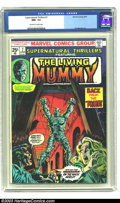 Bronze Age (1970-1979):Horror, Supernatural Thrillers #15 (Marvel, 1974) CGC NM+ 9.6 Off-white towhite pages. The start of The Living Mummy as a series. O...