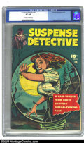 Golden Age (1938-1955):Crime, Suspense Detective #5 (Fawcett, 1953) CGC VF 8.0 Off-white to white pages. Baily and Sekowsky art. Highest grade yet certifi...