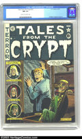 Golden Age (1938-1955):Horror, Tales From the Crypt #23 (EC, 1951) CGC NM 9.4 Cream to off-white pages. Beautiful copy of this early issue, which features ...