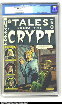 Tales From the Crypt #23 (EC, 1951) CGC NM 9.4 Cream to off-white pages. Beautiful copy of this early issue, which featu...