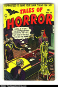 Golden Age (1938-1955):Horror, Tales of Horror #12 (Toby Publishing, 1954) Condition: FN/VF. MyronFass cover and art. Torture scenes. Great cover colors a...
