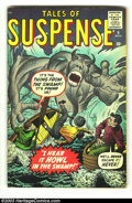 Silver Age (1956-1969):Horror, Tales of Suspense #6 (Marvel, 1960) Condition: VG+. Kirby cover.Kirby, Ditko, and Heck art. Overstreet 2003 VG 4.0 value = ...