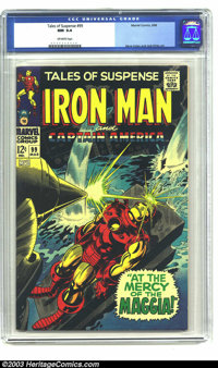Tales of Suspense #99 (Marvel, 1968) CGC NM 9.4 Off-white pages. Gene Colan and Jack Kirby art. Last issue before Iron M...