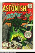 Silver Age (1956-1969):Mystery, Tales to Astonish #9 (Marvel, 1960) Condition: VG. Jack Kirby andSteve Ditko art. Overstreet 2003 VG 4.0 value = $64. Fro...