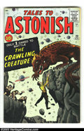 Silver Age (1956-1969):Mystery, Tales to Astonish #22 (Marvel, 1961) Condition: FN. Jack Kirbycover and art. Overstreet 2003 FN 6.0 value = $57. Fromthe...