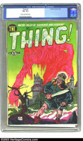 Golden Age (1938-1955):Horror, The Thing! #2 (Charlton, 1952) CGC VG+ 4.5 Cream to off-whitepages. Pre-Code horror. Bob Forgione cover. Overstreet 2003 VG...